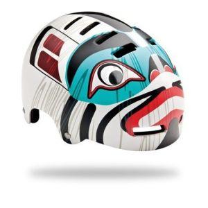 Casque enfant LAZER Street JR indian totem
