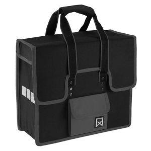 Sacoche WILLEX Shopper 18 litres noir/gris