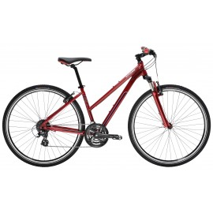 VTC GITANE Verso Sport 24 mixte - rouge rubis
