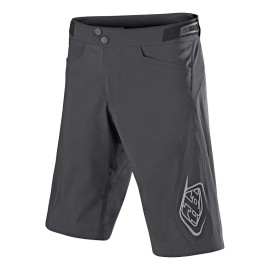 Short Troy Lee Designs Flowline solid charcoal avec sous short