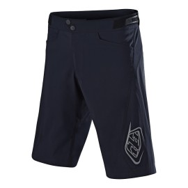 Short Troy Lee Designs Flowline solid black avec sous short
