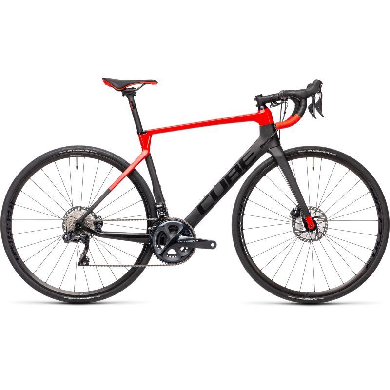 Vélo de route CUBE Agree C:62 SL 2021 rouge/noir