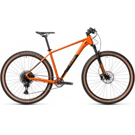 VTT CUBE Acid Orange/Noir 2021
