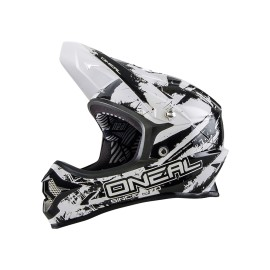 Casque O'NEAL Backflip Shocker RL Fidlock noir/blanc