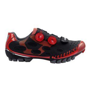Chaussures VTT CATLIKE Whisper noir/rouge