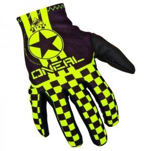 Gants O'NEAL Matrix Wingman noir/jaune